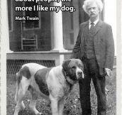 Mark Twain Makes A Good Point