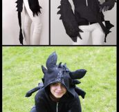 Night Fury Dragon Hoodie