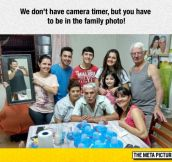 You Have To Be In The Family Photo