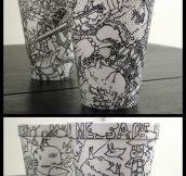 Clever Foam Coffee Cup Designs