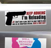 Peaceful Bumper Stickers
