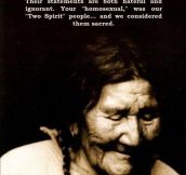 Native Americans On Gay Marriage
