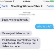 Crazy Ex Girlfriend Sends Harassing Texts, But He Shuts Her Down Real Quick