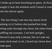 20 Terrifying Two-Sentence Horror Stories That Will Keep You Up At Night