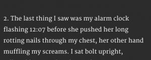 20 Terrifying Two-Sentence Horror Stories That Will Keep You Up At Night