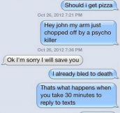 Perfect Responses For When Someone Doesn't Text Back I'm Trying This Now!