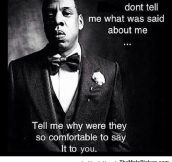 Jay Z Tells It Like It Is