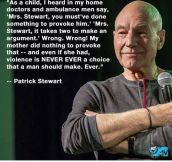 Sir Patrick On Domestic Violence