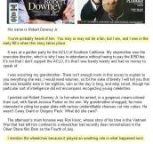 What Robert Downey Jr. Did When He Was At His Worst