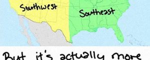 The Us And Its Strange Geography
