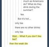 British People And Their Tea