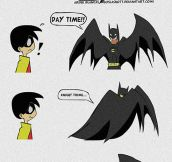 What Batman Does In His Free Time