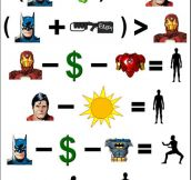 Batman Math