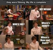 That Time Drake Bell Walked In On The Set Of iCarly