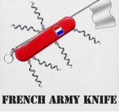 Army Knife For The French