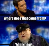 George R. R. Martin On Writing About Women