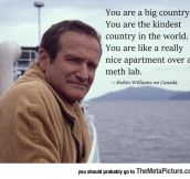 Robin Williams's Take On Canada