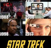It's Confirmed, The Writers Of Star Trek Had A Time Machine
