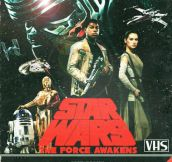 The Force Awakens As A VHS Cover