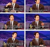 Glenn From The Walking Dead On His Dating Life