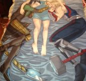 Probably The Best Thor And Loki Blanket Ever