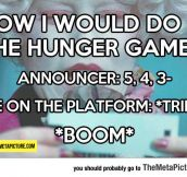 If I Were Chosen For The Hunger Games
