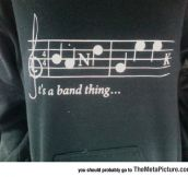 You Can Say It's A Band Thing
