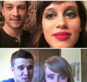 When Guys Do Their Girlfriends' Makeup