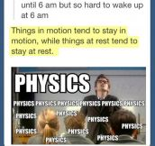It's Physics