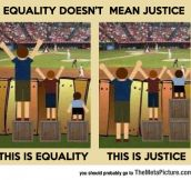 Difference Between Equality And Justice