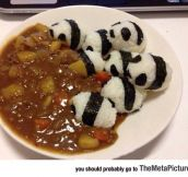 Delicious Panda Curry Bum-Rush