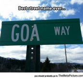 Peculiar Street Name