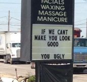 We'll Try To Make You Look Good