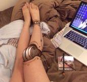 Leg Make-Up