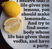 Best Thing To Do When Life Gives You Lemons