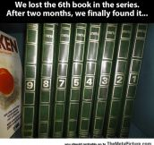 Lost Book In The Series