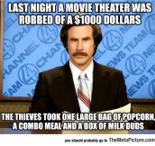 Movie Theater Crime