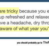 Naps Are A Bit Tricky