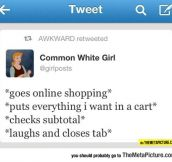 Whenever I Do Some Online Shopping