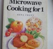 Saddest Cookbook Ever Written
