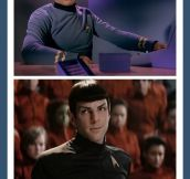 The Sassy Spock Look