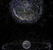 Every Single Satellite Orbiting Earth Right Now