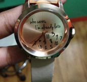 This Watch Suits Me