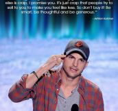 Ashton Kutcher Completely Nails It