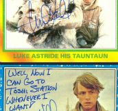 When You Ask Mark Hamill For An Autograph