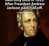 Probably The Only President Who Did Something Significant