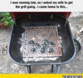 Get The Grill Going