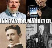 Innovator Vs. Marketer