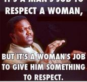 It's All About Respect