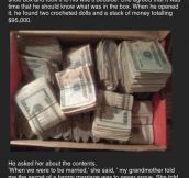 Husband Finds His Wife's Secret Money